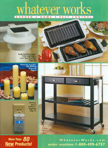 Picture of home garden tools from Whatever Works - Potpourri Group catalog