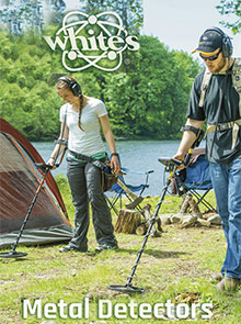 Picture of best metal detectors from White's Electronics - Metal Detectors catalog