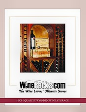 Picture of large wine rack from WineRacks.com Commercial catalog
