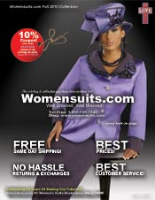 Picture of plus size skirt suits from Womensuits PLUS catalog