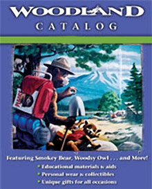 Picture of Smokey the Bear from Woodland Catalog catalog