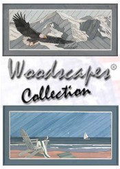 Picture of woodscapes from Woodscape ArtKits catalog