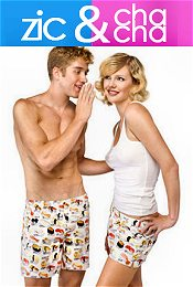 Picture of boxer shorts for women from Zic & Cha Cha catalog