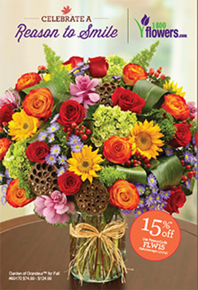 1800flowers Catalog Cover