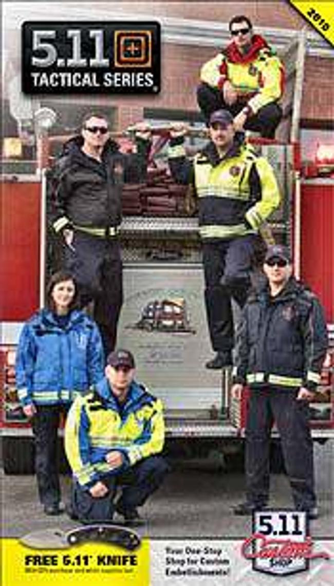 5.11 Tactical Apparel - EMS & Fire Rescue Catalog Cover