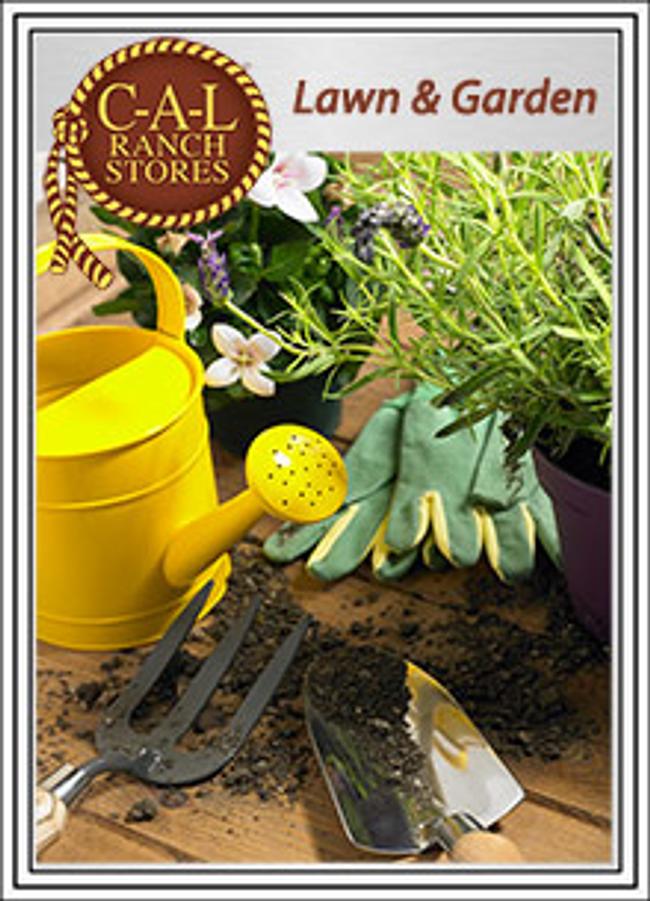 C-A-L Ranch Stores - Garden & Yard Catalog Cover