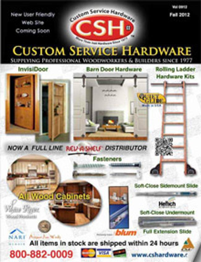 CSH Hardware Catalog Cover