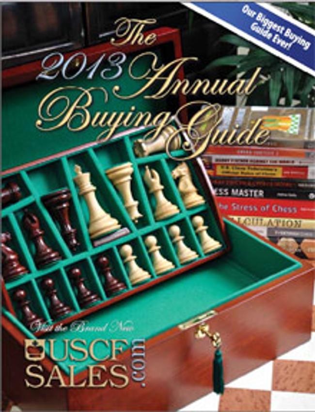 U. S. Chess Catalog Cover