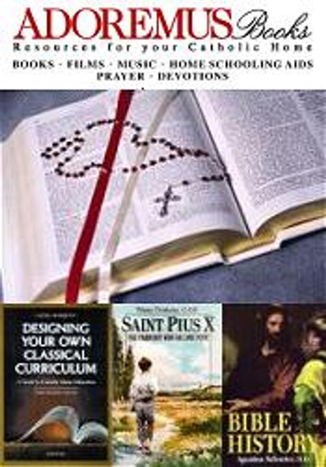 Adoremus Books Catalog Cover