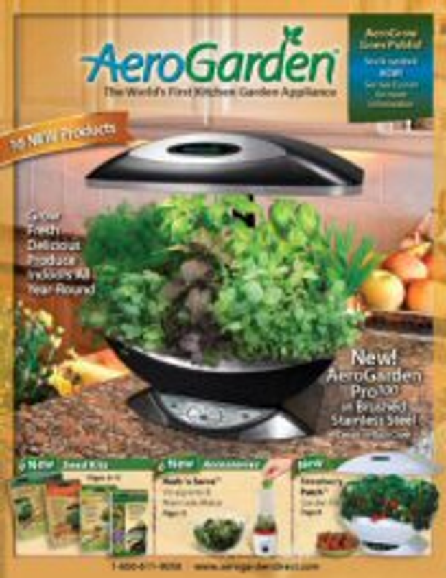 AeroGarden Catalog Cover