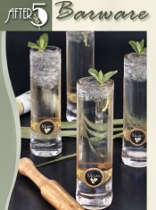 After 5 Barware Catalog Cover
