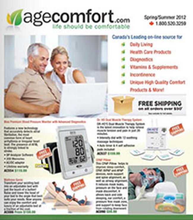 AgeComfort Catalog Cover