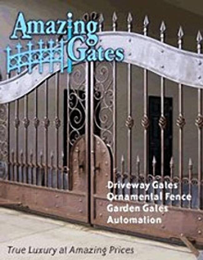 Amazing Gates Catalog Cover