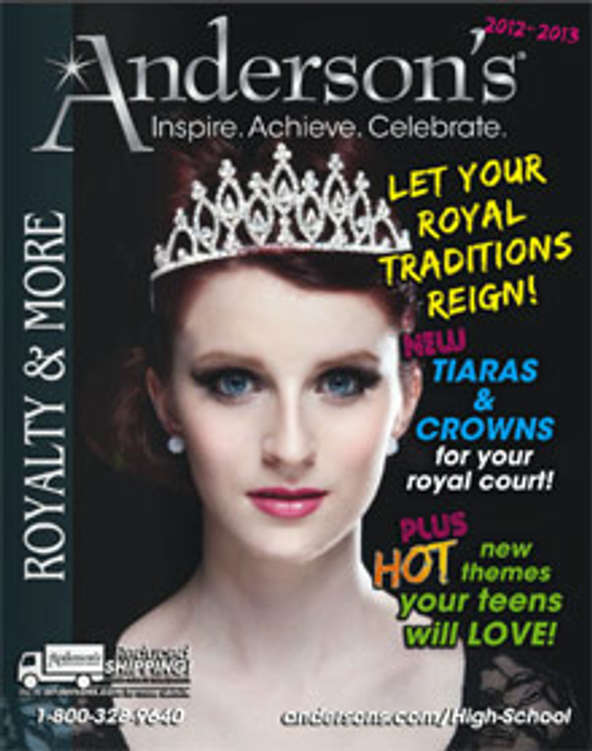 Anderson's Catalog Cover