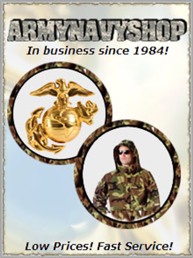 Army Navy Shop Catalog Cover