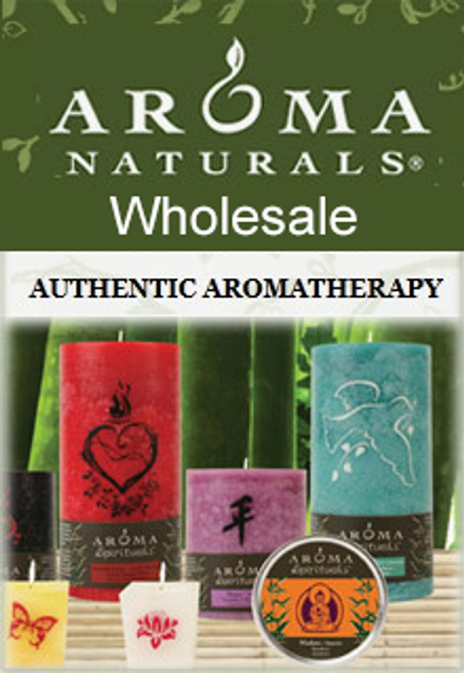 Aroma Naturals - Wholesale Catalog Cover
