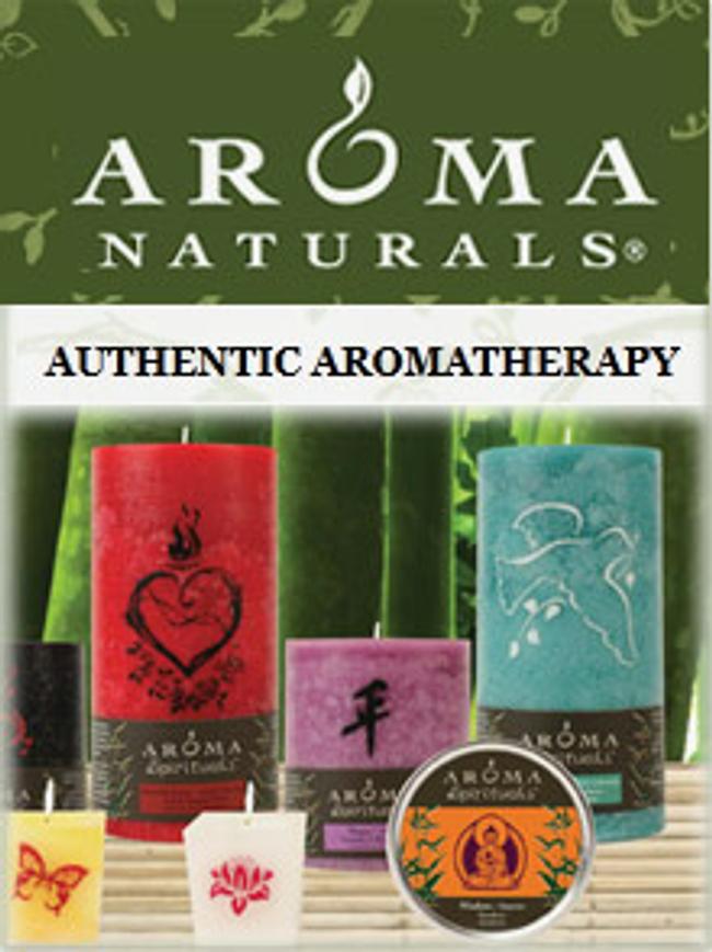Aroma Naturals Catalog Cover