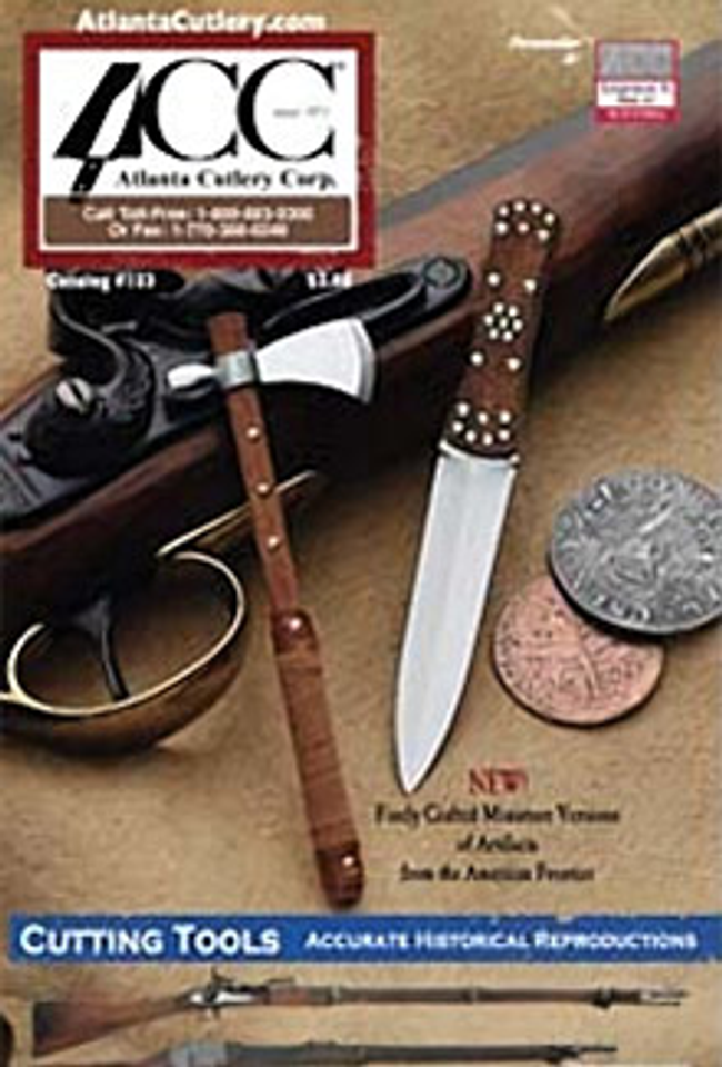 Atlanta Cutlery Catalog Cover