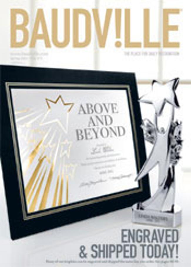 Baudville.com Catalog Cover