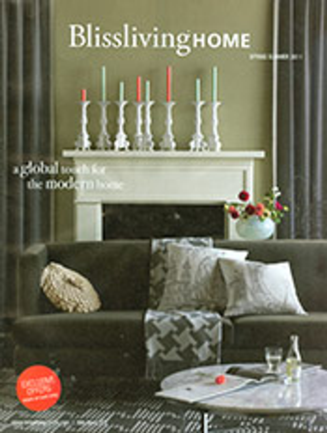 Blissliving Catalog Cover