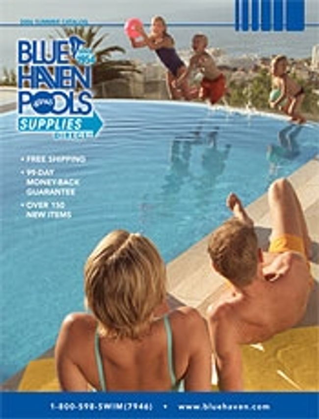 Blue Haven Pools & Spas Supplies Direct™ Catalog Cover