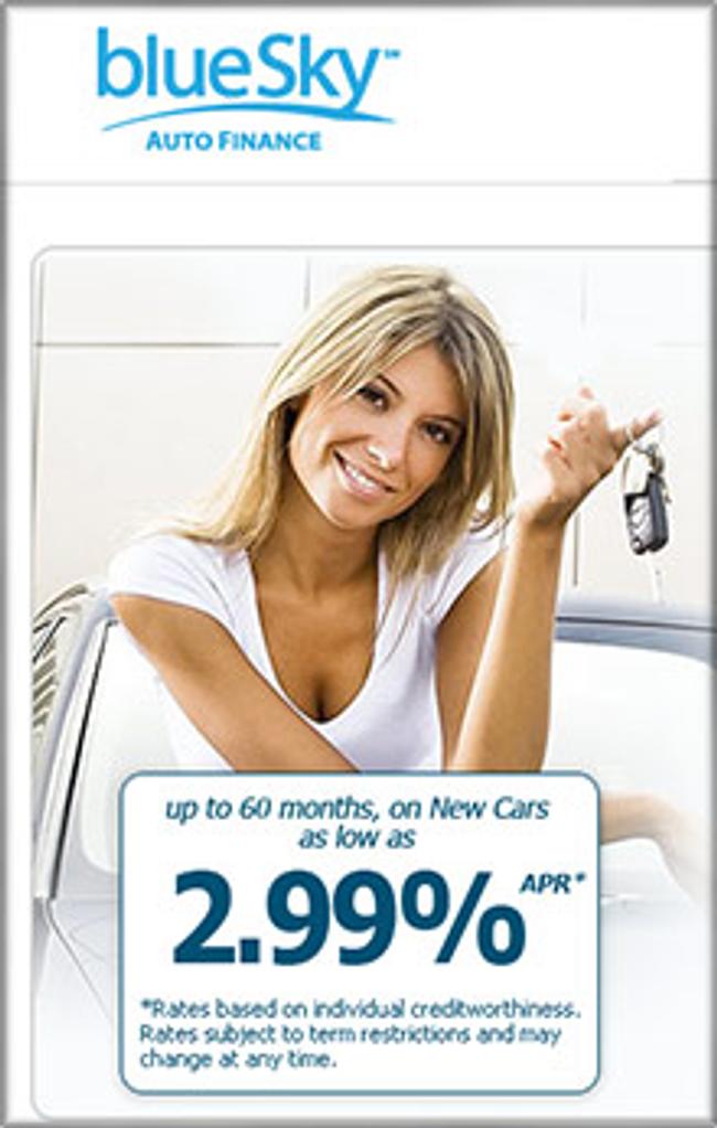 Blue Sky Auto Loan Catalog Cover