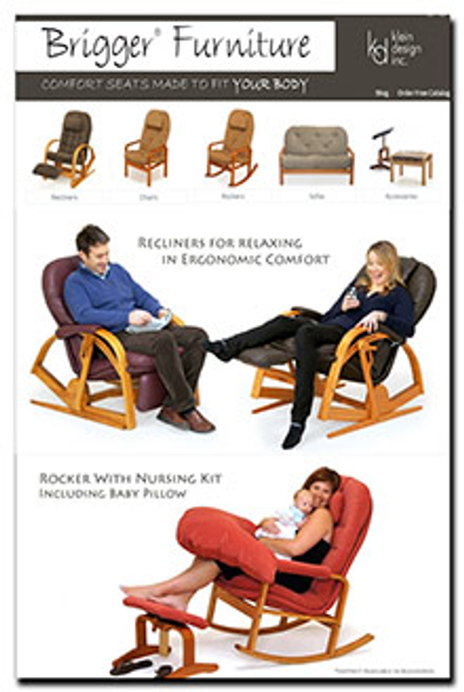 Brigger Furniture Catalog Cover