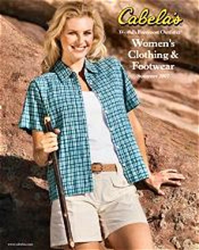 Cabela's Women's Clothing Catalog Cover