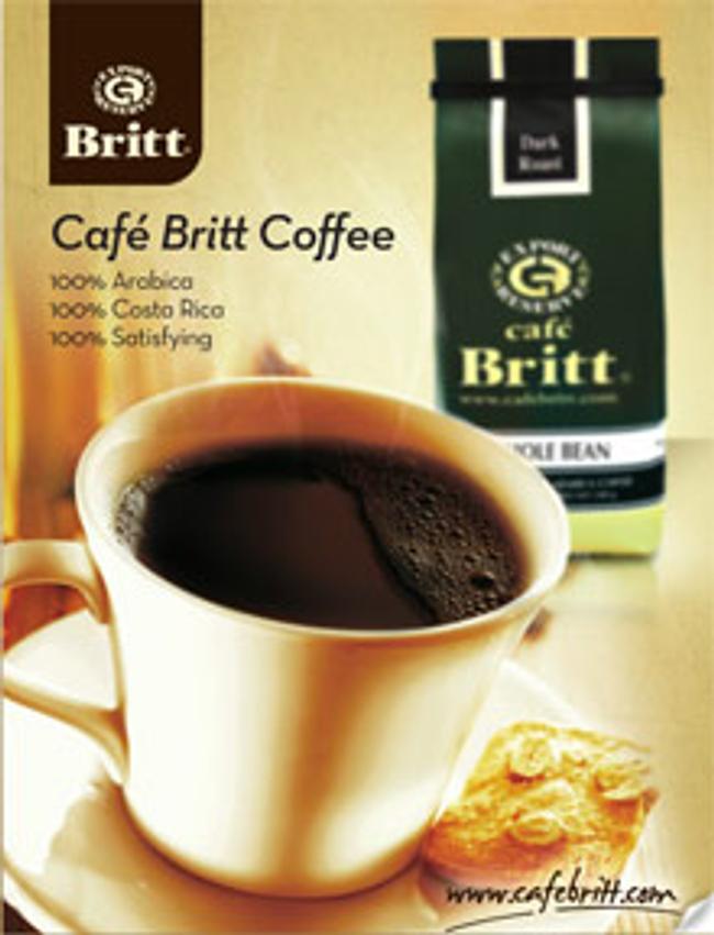 Cafe Britt Catalog Cover
