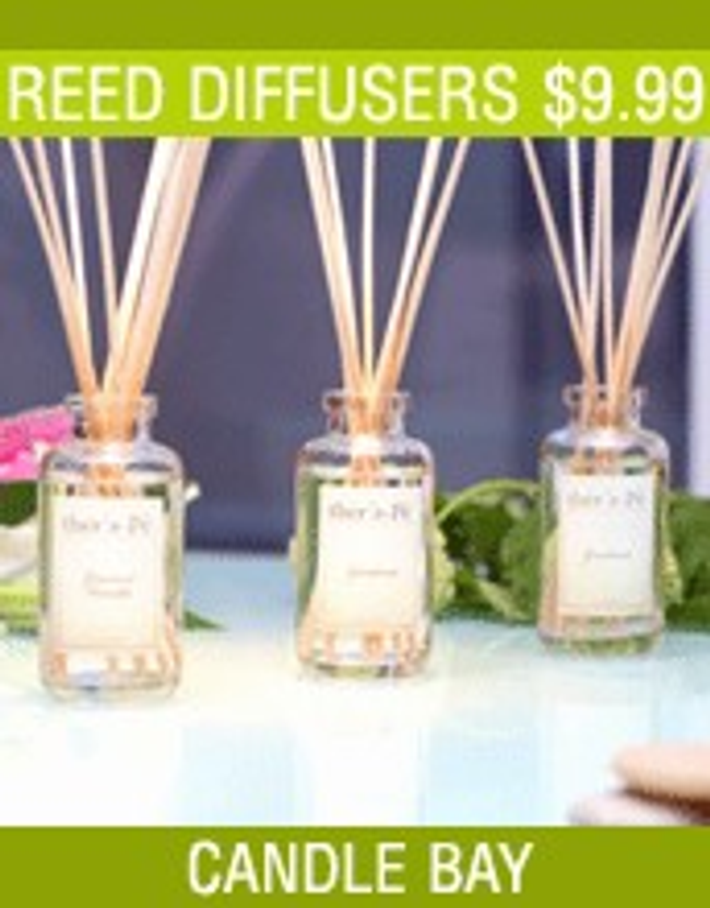 Candle Bay Candles & Reed Diffusers Catalog Cover