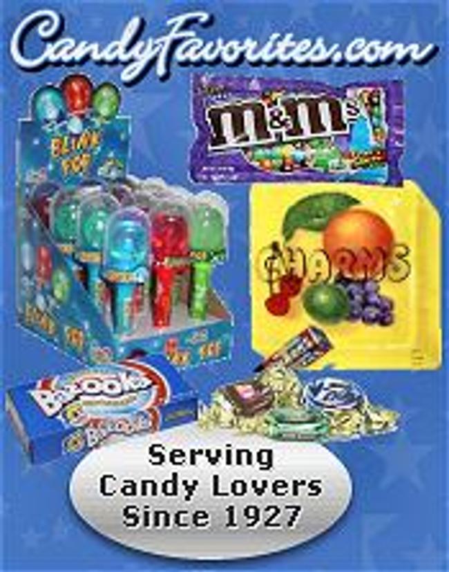 CandyFavorites.com Catalog Cover