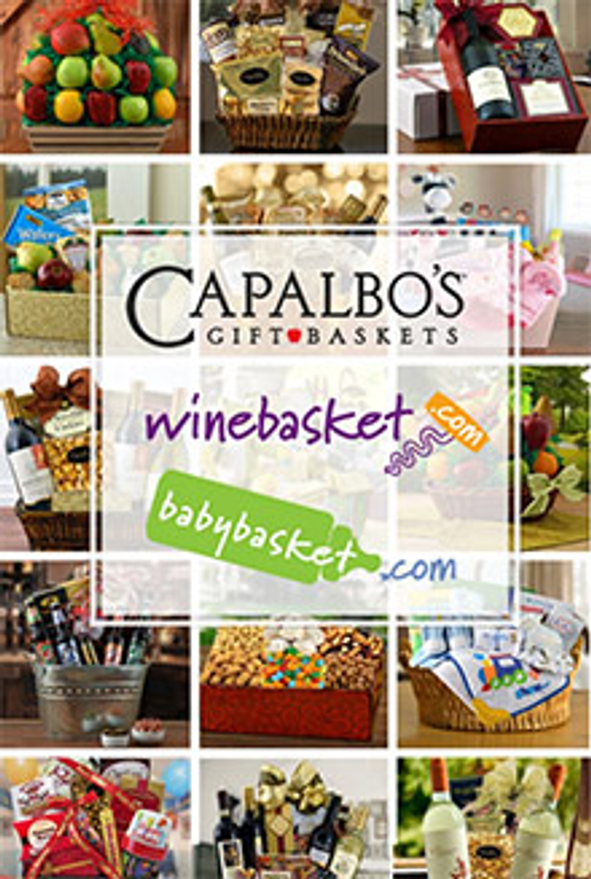 Capalbo's Gift Baskets Catalog Cover