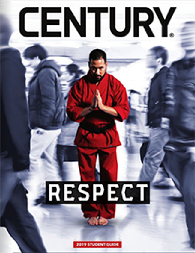 Century Martial Arts Catalog Catalog Cover