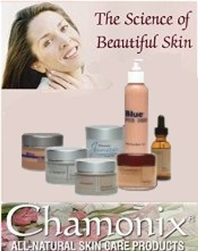 Chamonix All-Natural Skin Care Products Catalog Cover