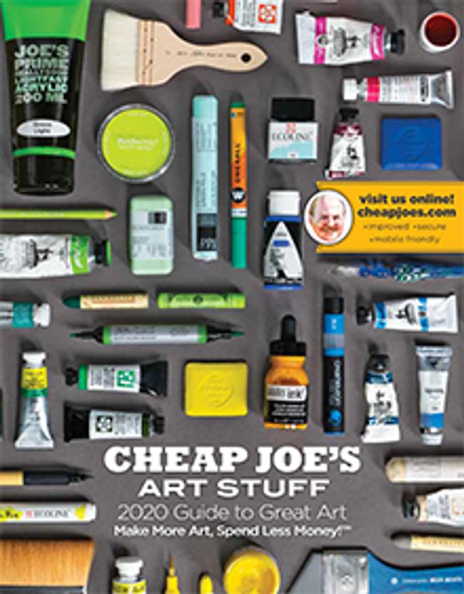 Cheap Joe's Art Stuff Catalog Cover