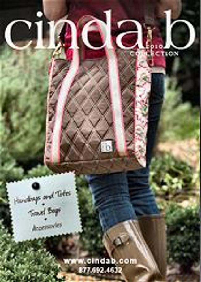 cinda b Catalog Cover