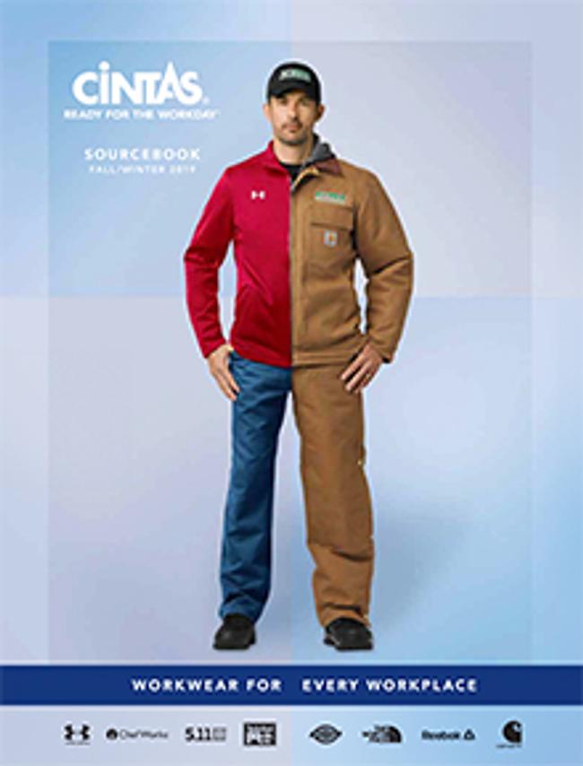 Cintas Uniforms Catalog Cover