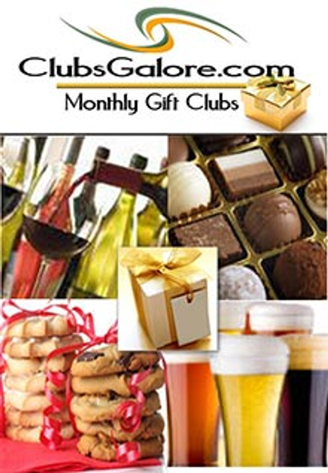 Clubs Galore Catalog Cover