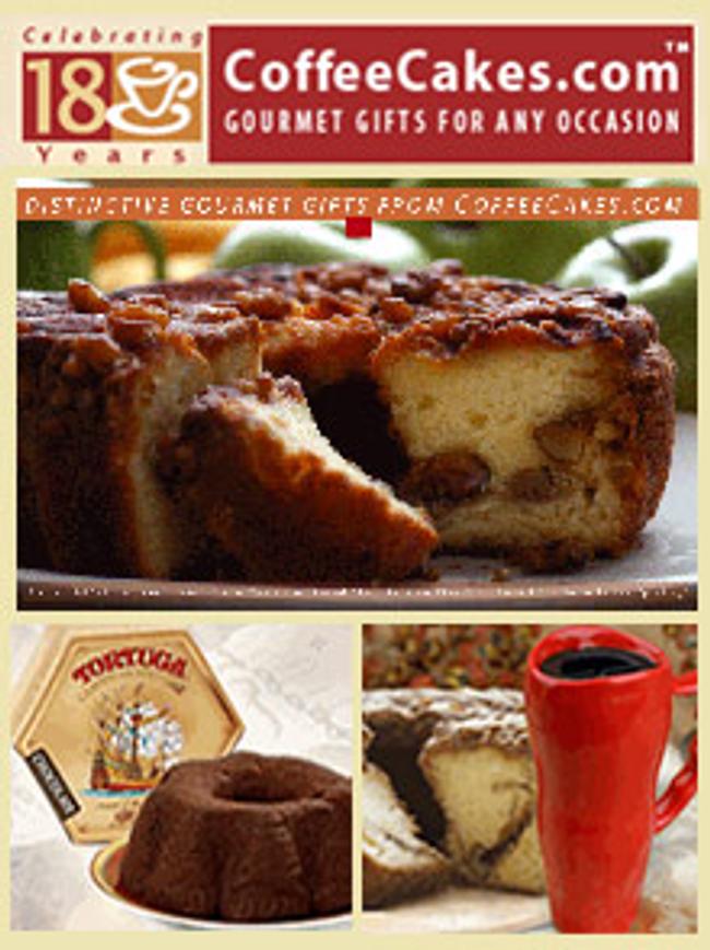 CoffeeCakes.com Catalog Cover