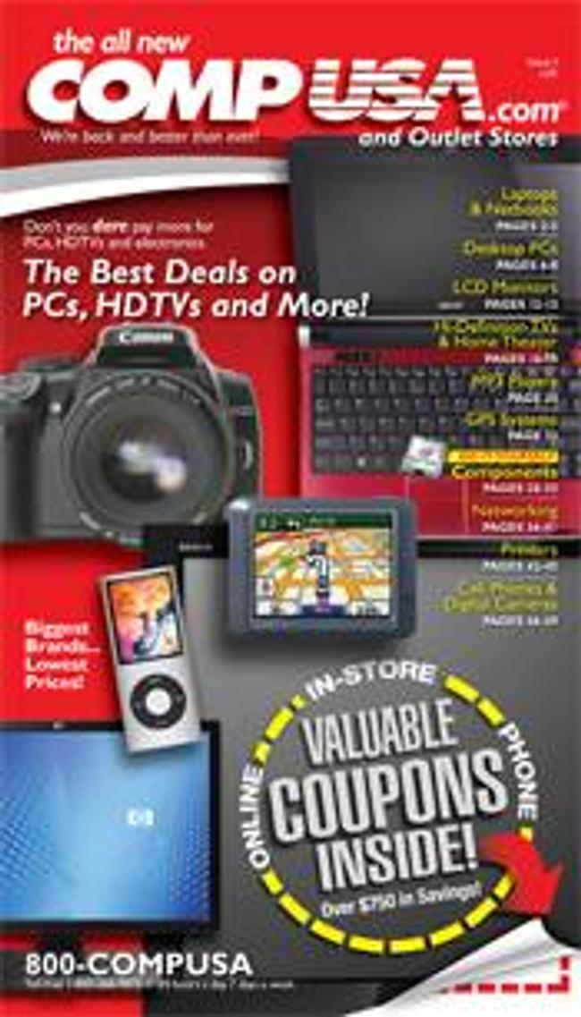 CompUSA Catalog Cover