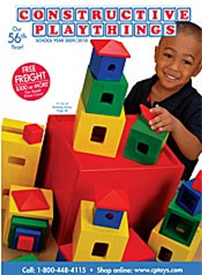 Constructive Playthings School Catalog Cover