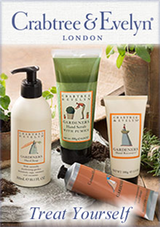 Crabtree & Evelyn Catalog Cover