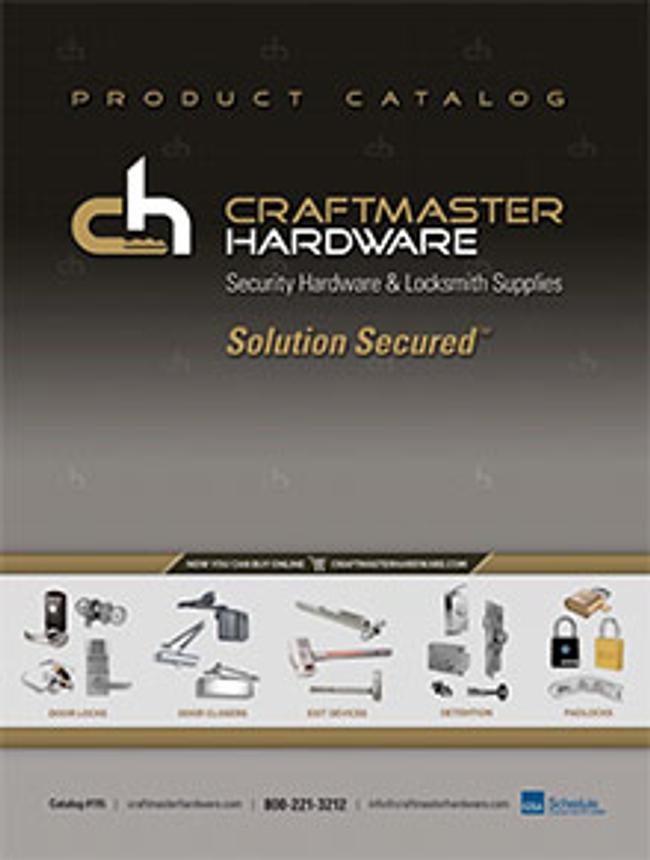 Craftmaster Hardware Catalog Cover
