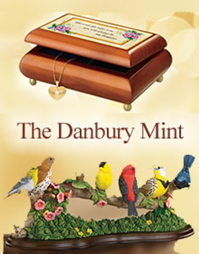 The Danbury Mint Catalog Cover