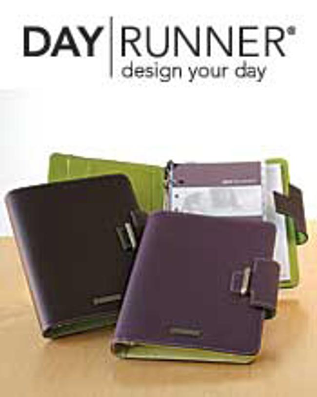 Day Runner ® Catalog Cover