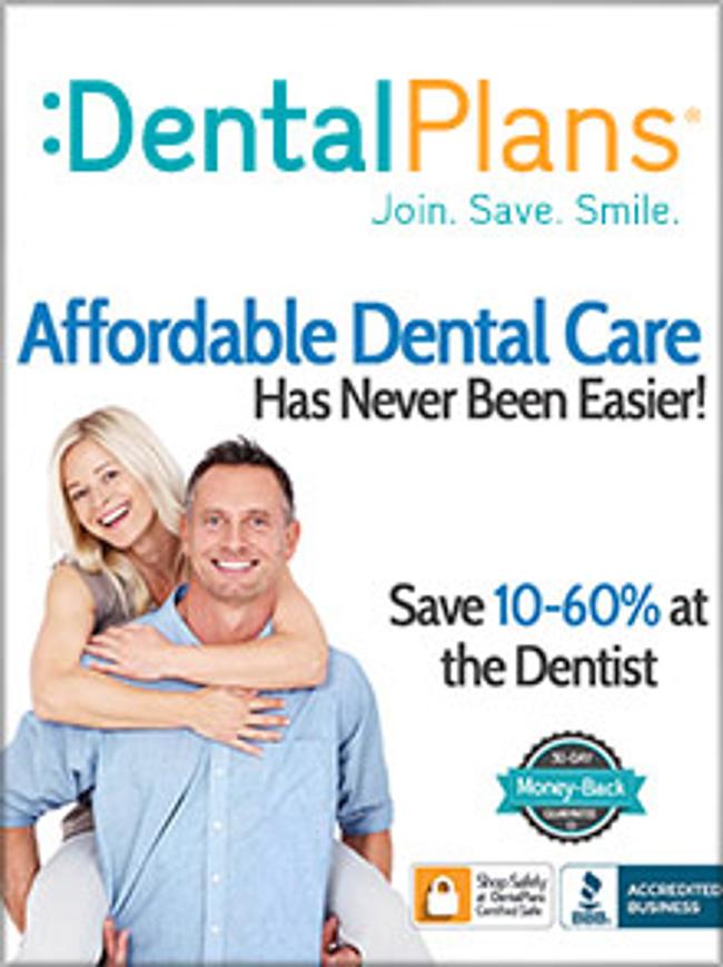 DentalPlans.com Catalog Cover