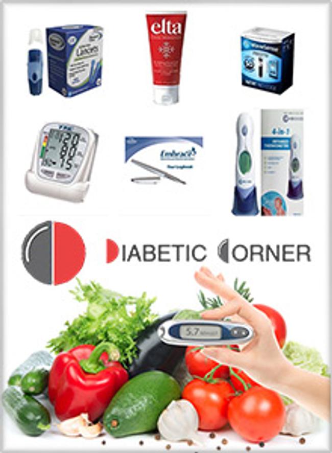 Diabetic Corner Catalog Cover