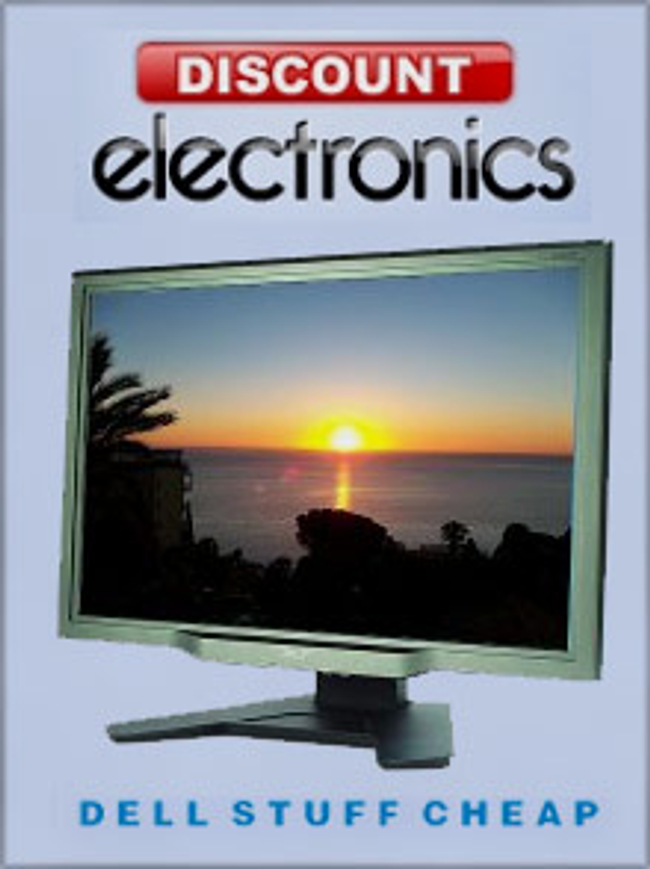 Discount Electronics Catalog Cover