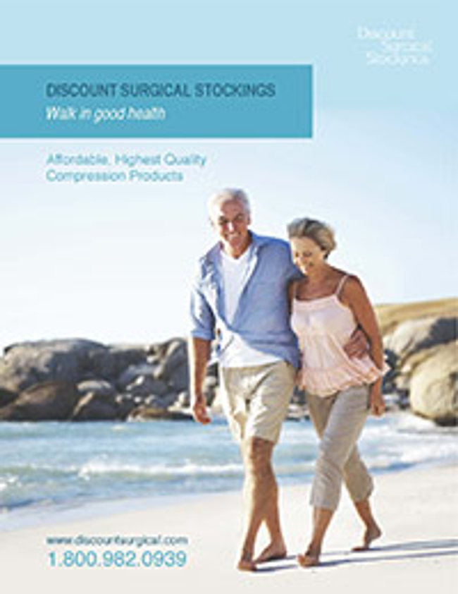 Discount Surgical Stockings Catalog Cover