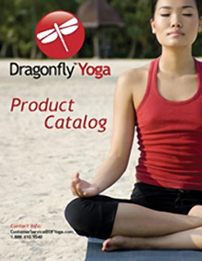 Dragonfly Yoga Catalog Cover